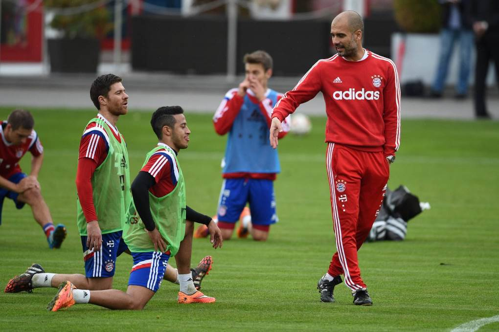 SOCCER : Training - Bayern Munich - Bundesliga - 10/13/2014